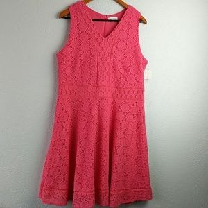 Chater Club Dress Peach  PXL New with tags